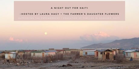 A NIGHT OUT FOR HAITI tickets