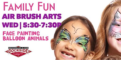 Wakefield Kids Night:  Airbrush Arts