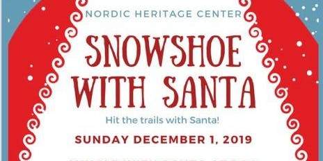 Snowshoe with Santa