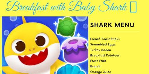 Breakfast with Baby Shark