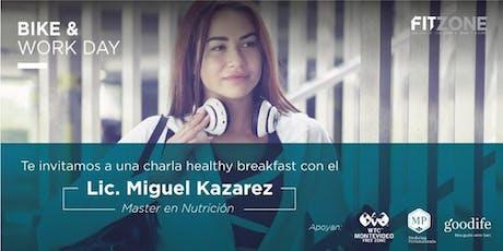 Charla Nutrición - Bike & Work Day entradas