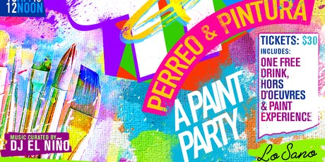 Perreo & Pintura (A Latin Paint Party) tickets