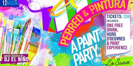 Perreo & Pintura (A Latin Paint Party)