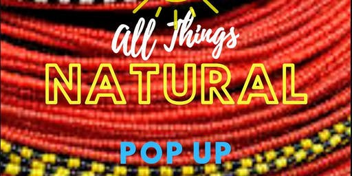 Sol Afri: Presents All Things Natural Pop Up