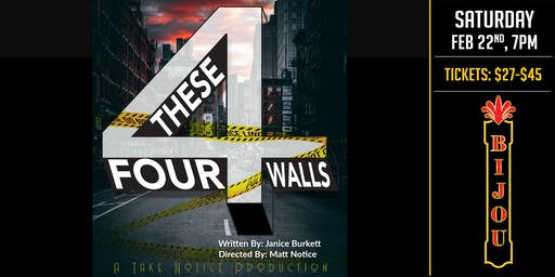 These Four Walls - A Play
