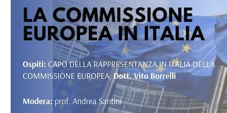 La Commissione Europea in Italia biglietti