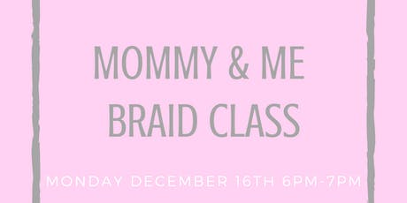 Mommy & Me Class tickets