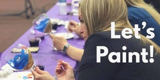 Margarita Glass & Ornament Painting Class at Tacos Locos 12/16 @ 6:00 pm