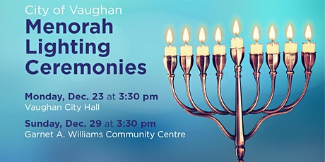 City of Vaughan Menorah Lighting Ceremony tickets