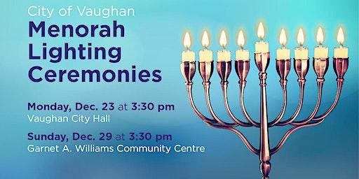 City of Vaughan Menorah Lighting Ceremony