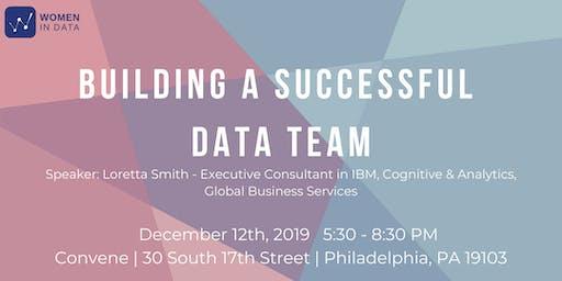 Building a successful data team