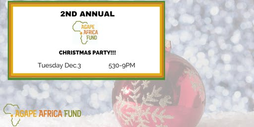 Agape Africa Fund's Christmas Party!