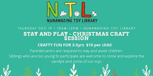 Christmas Craft - Stay And Play
