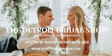 The Detroit Bridal Show tickets