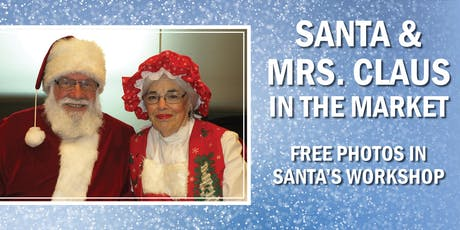 Santa & Mrs. Claus in the Market | Free Photos tickets