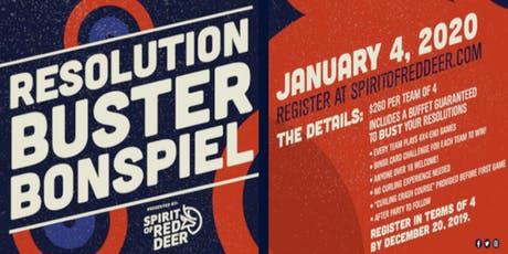 Resolution Buster Bonspiel tickets