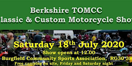 Classic and Custom Motorcycle Show tickets