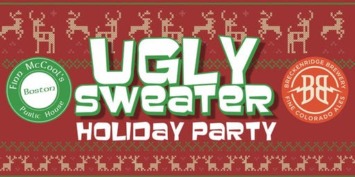 Ugly Sweater Holiday Party presented by Breckenridge Brewery & Friends