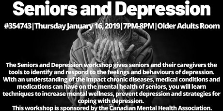 Seniors & Depression  tickets