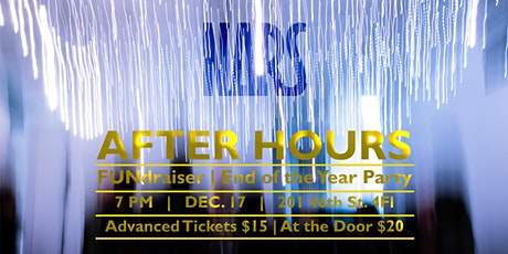 NARS After Hours - End of the year FUNdraiser tickets