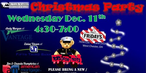 2019  Holiday Happy Hour & Toys for Tots Drive