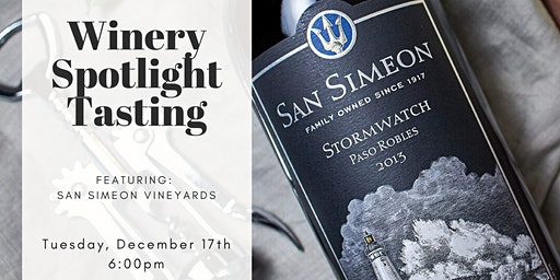 Spotlight Tasting: San Simeon Vineyards