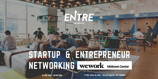 Startup and Entrepreneur Networking Event - DC