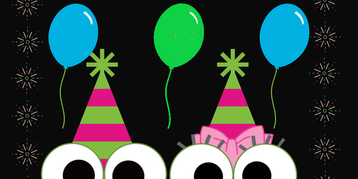 Noon Year's Eve Party at sweetFrog Laurel
