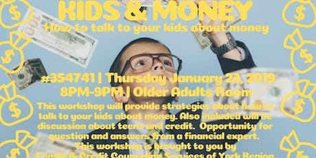 KIDS & MONEY  tickets