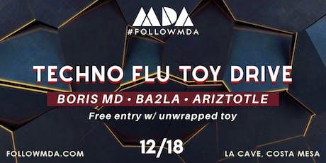 MDA Wednesdays Techno Flu Toy Drive tickets