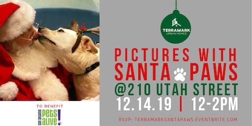 Pictures with Santa Paws to benefit San Antonio Pets Alive!