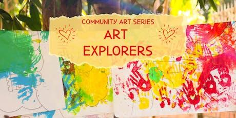 Art Explorers - Special Needs Art Class tickets
