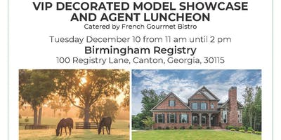 VIP Decorated Model Showcase and Agent Luncheon