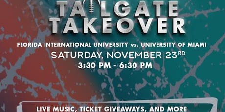 Perchance Presents Tailgate Takeover UM-FIU tickets