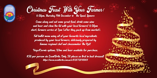 Chistmas Feast With Your Farmer!