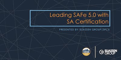 Leading SAFe 5.0 with SA Certification - Reading/Boston - January