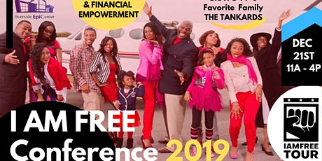 I AM FREE CONFERENCE 2019 (ATLANTA) tickets
