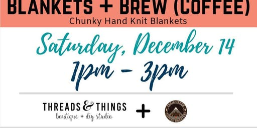 Blankets + Brew (Coffee) at Trail Creek Coffee Roasters