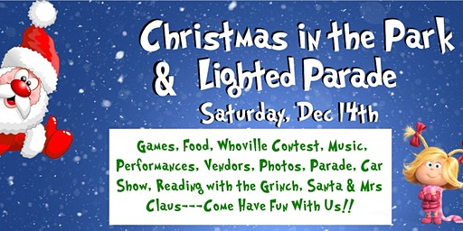 Christmas in the Park & Lighted Parade!