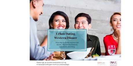 27 DEC: TGIF WESTERN DINNER (速配约会晚餐) tickets