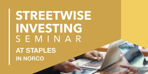 Streetwise Investing - General Investing 101
