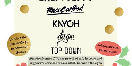 Attention Homes fundraiser w/ Choppy Oppy, RaceCarBed, Kayoh tickets
