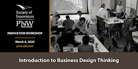 Innovation Workshop: Introduction to Business Design Thinking tickets