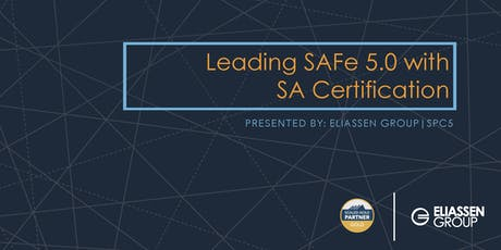 Leading SAFe 5.0 with SA Certification - Hartford - Feb tickets