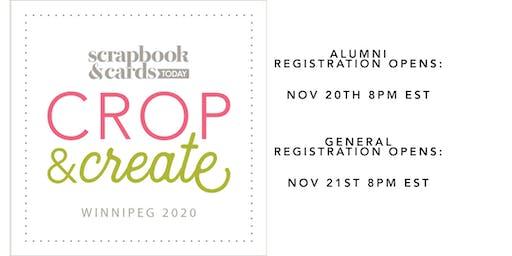 Crop & Create Winnipeg 2020