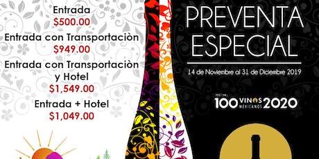 100 vinos mexicanos boletos