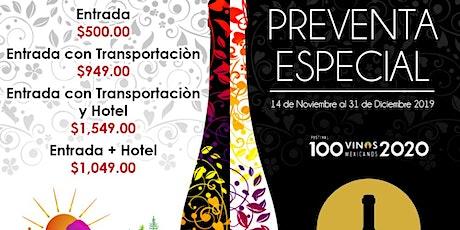 100 vinos mexicanos tickets