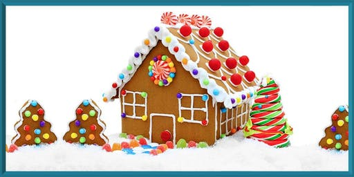 Elementary Open Hang - Gingerbread House Building