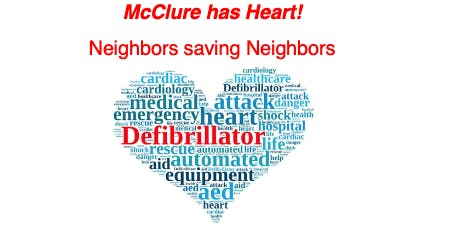 McClure has Heart! AED (Automated External Defibrillator) Program