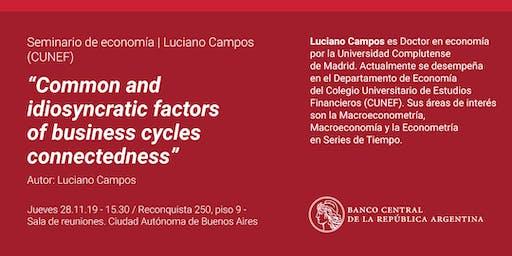 Seminario de Economía   Luciano Campos (CUNEF)